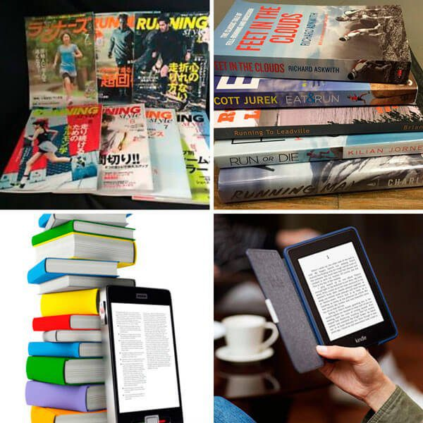 Ebook, Books, Magazines